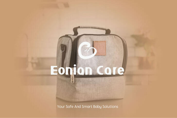 Eonian Care Breast Pumping On-the-go Companion Cooler Bag