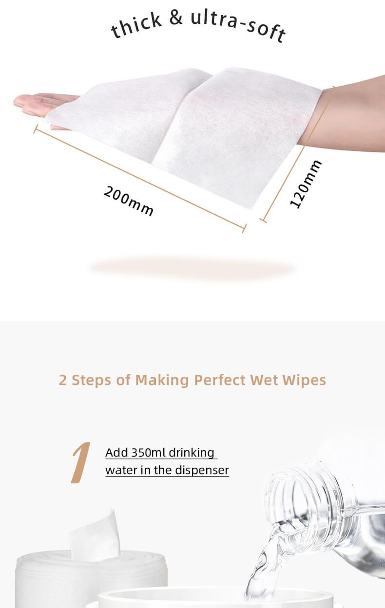 Eonian Care Ultra Soft Re-heatable Dry Baby Wipes