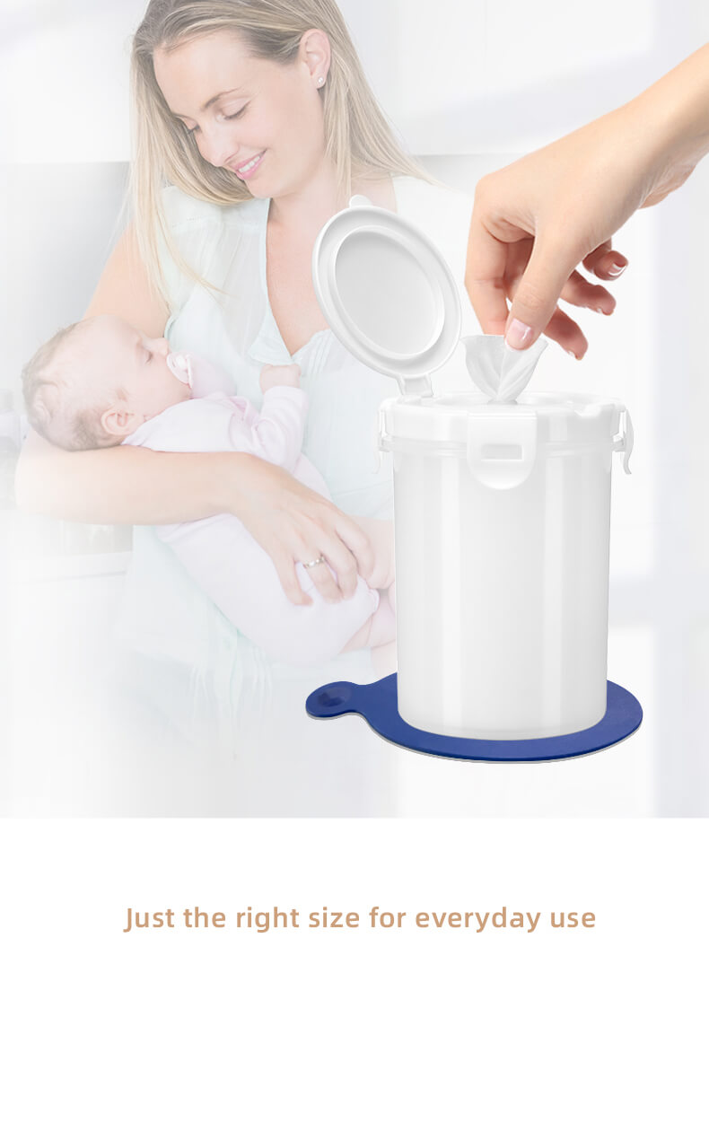 baby wipes and wipe dispenser